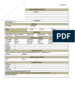 CIS Form