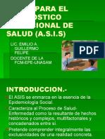 Bases Para El Diagnostico Situacional de Salud (