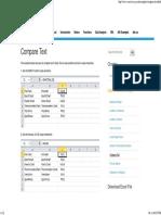 Compare Text in Excel - Easy Excel Tutorial