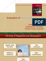 Chapter 12 Evaluation of Print Media
