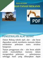 Slide Pemindahan Tanah Mekanis Pertemuan 1
