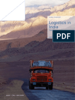 Logistics in India Part 1