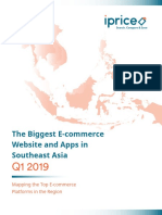 Biggest Ecommerce Websites and Apps in Southeast Asia q1 2019
