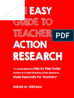 An Easy Guide to Teachers Action Research Aniver Vergara