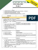 PSYCH 3 - EVALS 1