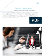 Cyber Security Analyst Cert Data Sheet