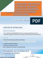 11 °ANÁLISIS DE ESTABILIDAD  EXPOSISCION DE SEMANA 11