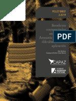 Resumen de Política de Seguridad en La JEP