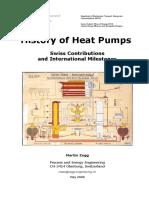 History of Heat Pumps