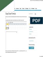 Copy Exact Formula in Excel - Easy Excel Tutorial