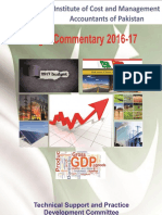 ICMAP Budget Commentary 2016-17