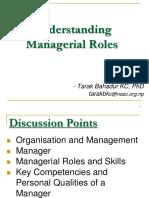 Understanding Managerial Roles
