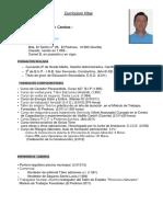 15 06 19-- Currículum Vitae--Gruista Manuel Muñoz