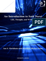 Ian S. Markham, Suendam Birinci - An Introduction to Said Nursi-Ashgate (2011)