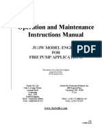 Operation Manual for Clarke JU_JW Model Engines