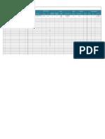 01 Matriz de Indicadores Nombre de Area