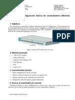 Conmutadores Ethernet Cisco