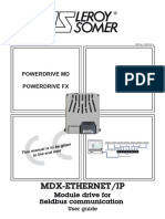 MDX Ethernet-IP - Leroy Somer - 2012