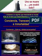 Conciencia Transcendencia e Inmortalidad