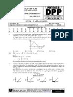 Class Xi Physics Dpp Set (13) - Nlm & Wpe