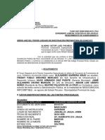 2206015500-2012-507-0 ACLARACION JAUJA