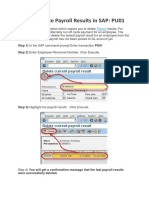 How to Execute Payroll in SAP & in Background Imp 2 Docx