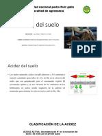 Acidez Del Suelo- Analisis de Suelo.diapositivas
