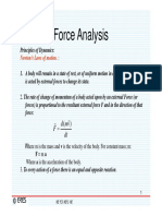 Force analysis