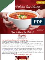 Senior Living Recipes Soups