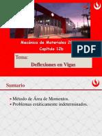 Cap12b Deflexion en Vigas - Areas de Momentos v2019-1