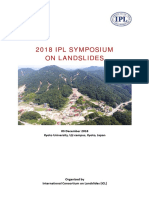 2018 IPL Symposium on Landslides Proceedings