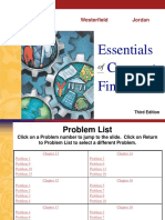 Solutions 3e CorpFin Ross Westerfield Chapters 13-18