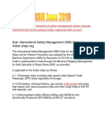 ASM June 2019 ISM Manual