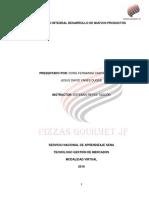 Proceso Integral de Desarrollo de Nuevos Productos