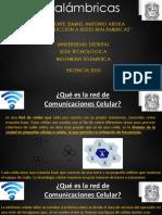 Redes Inalámbricas TelefoniaCelularIA
