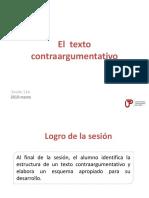 11A N04I El Texto Contraargumentativo 2019-Marzo