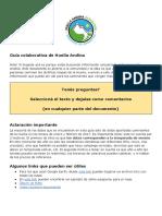 Guía Colaborativa de Huella Andina
