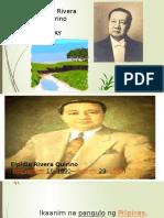 Elpidio Quirino powerpoint