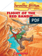 Flight of the Red Bandit Geronimo