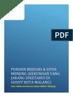 !!! Artikel Situs Punden Beji Sari !!!