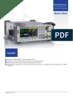 SDG1000X QuickStart En