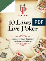 10 Laws of Live Poker v5