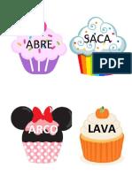 Palabras Compu Estas Cupcakes