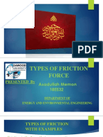 Presentation on Friction