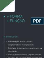 Aula 01 - Forma e Função