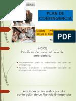 Semana 12 - Planificación Previa Al Plan de Emergencia