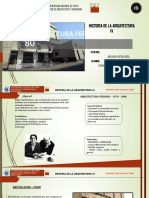 Arquitectura Peruana 70 - 80