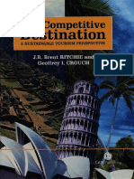The Competitive Destination J. R. Brent Ritchie Geoffrey Ian Crouch