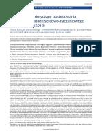 Wytyczne ESC Dotyczące Postępowaniaw Chorobach Układu Sercowo-naczyniowego Podczas Ciąży 2018