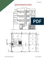 Análisis Sísmico Estático_Edificio Residencial